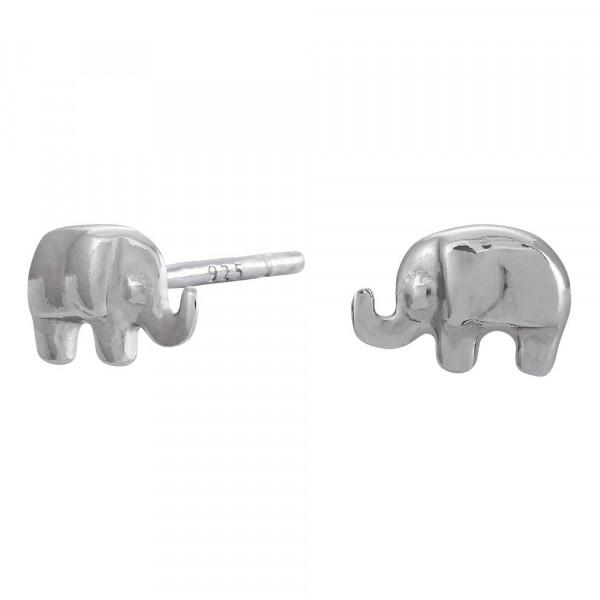 NOA KIDS JEWELLERY Kinder-Ohrstecker silber rhod. Elefant