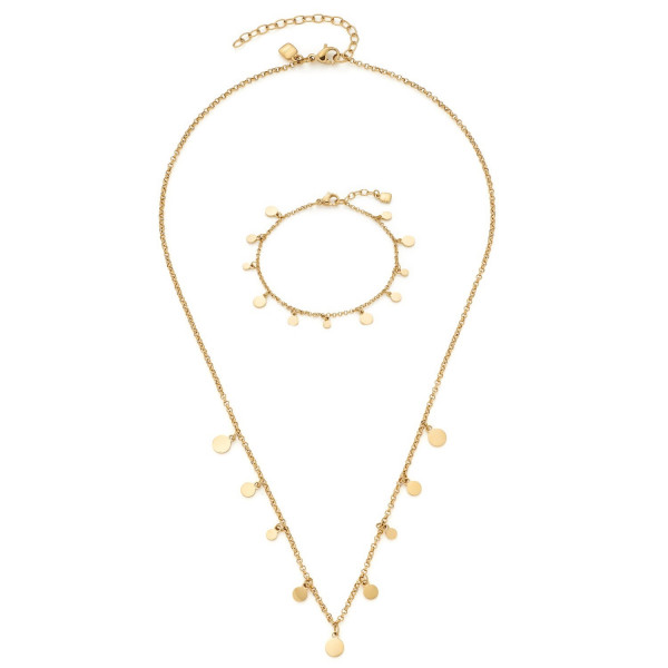 LEONARDO CIAO Schmuckset Rica Halskette und Armband
