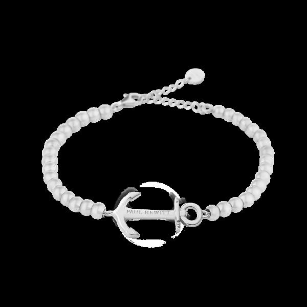 PAUL HEWITT Damen Armband Anchor Spirit In Silber mit Perlen