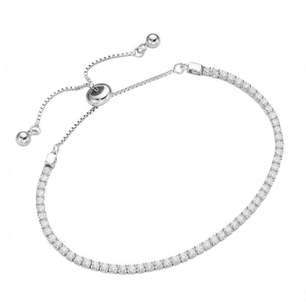 Damenarmband Tennisarmband by Da-lino 925 Silber Armband
