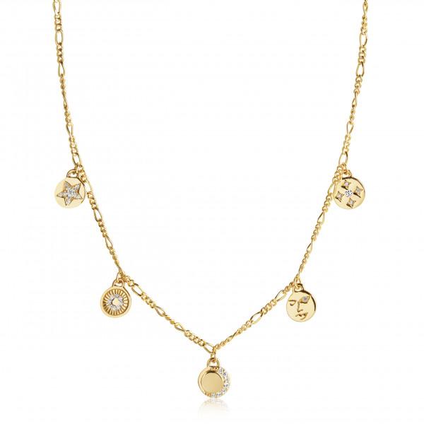 Sif Jakobs Damenhalskette Halskette Portofino Necklace mit weißen Zirkonia SJ-N12017