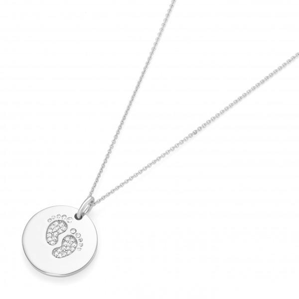 Da-lino Damen Halskette mit Anhänger in 925er Silber