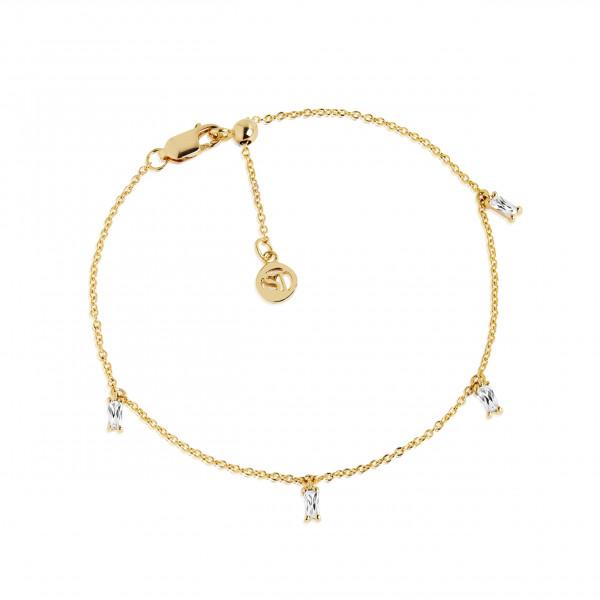 Damenarmband Armband Princess Baguette mit Zirkonia SJ-B22028