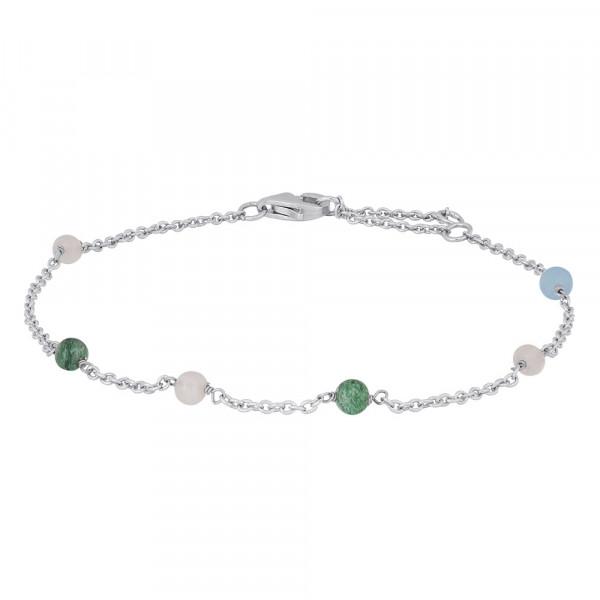 Nordahl Jewellery Armband mit bunten Edelsteinen