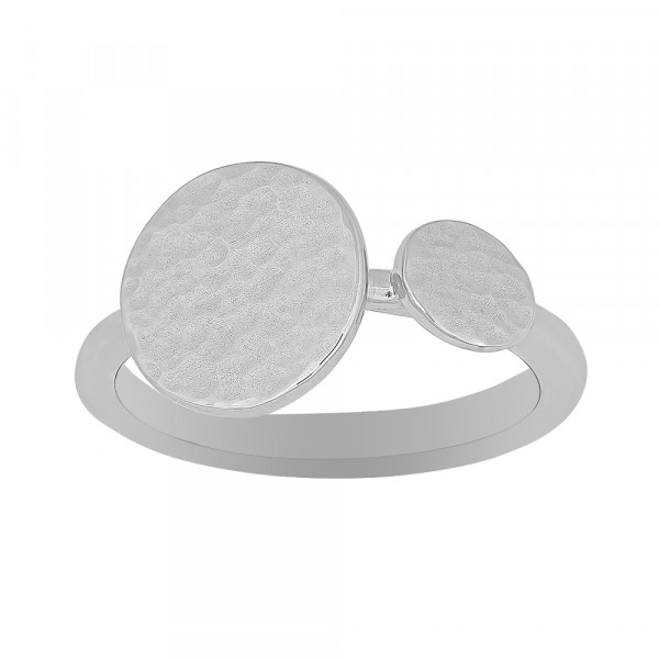 Nordahl Jewellery Damenring Ring TWO-SIDED52 12mm
