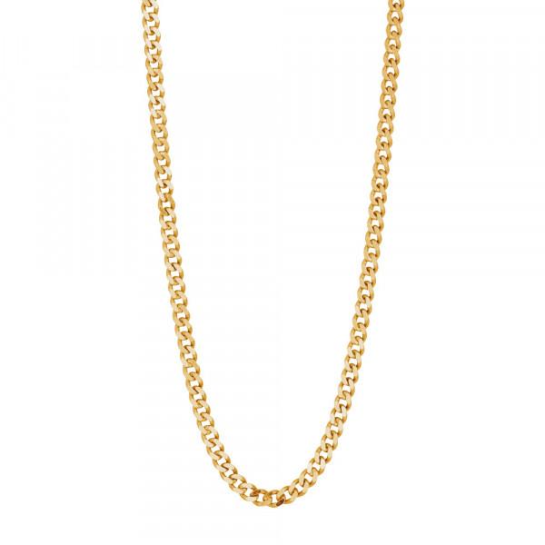 Vergoldet Halskette PANZER52 3mm 50 cm