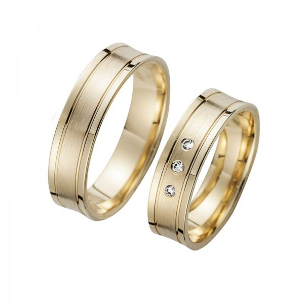 Trauringe Gelbgold Cilor Perfect Love Kollektion HR 87A