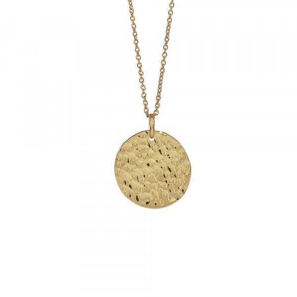Vergoldet Halskette TWO-SIDED 20mm