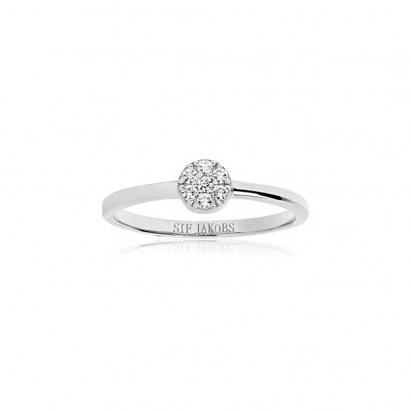 Sif Jakobs Damen Ring Cecina mit weißen Zirkonia