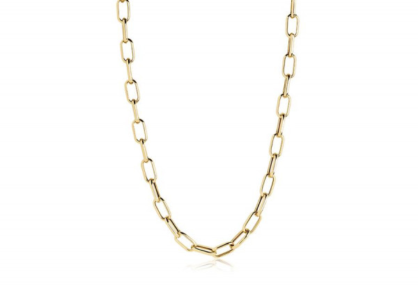Sif Jakobs Damen Halskette Capri 18K vergoldet