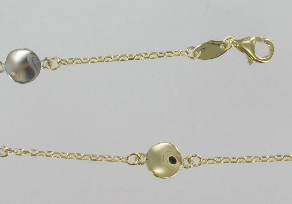 Damen-Armband, PALIDO 585 Gold 17 cm