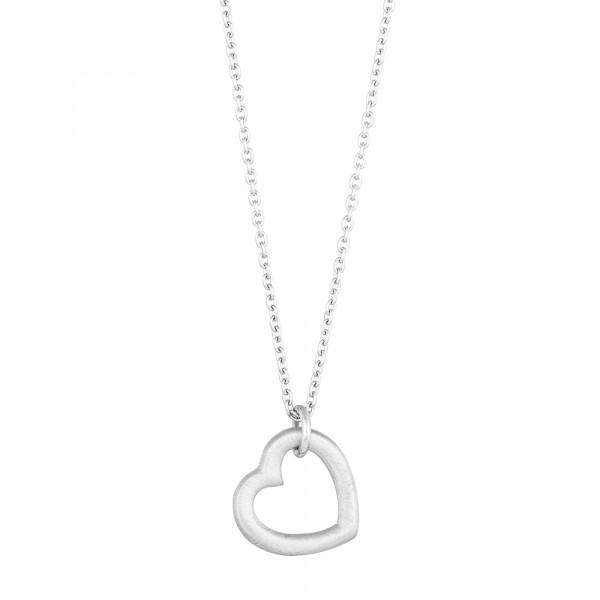 Rhd. Silber Halskette LOVE52 14mm