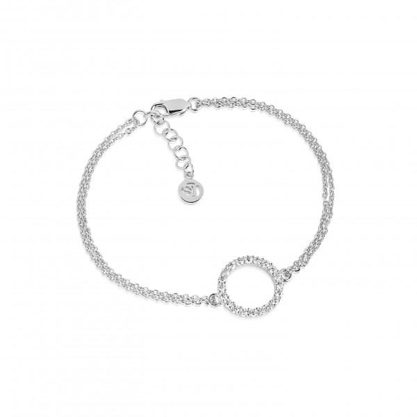 Sif Jakobs Armband Biella Grande 925er Silber mit weißen Zirkonia