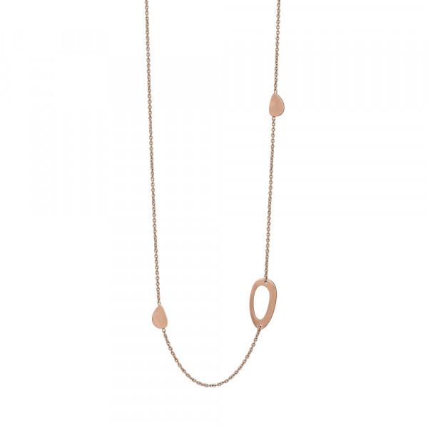 Nordahl Jewellery Damenhalskette Halskette COMPOSED52 80+10cm