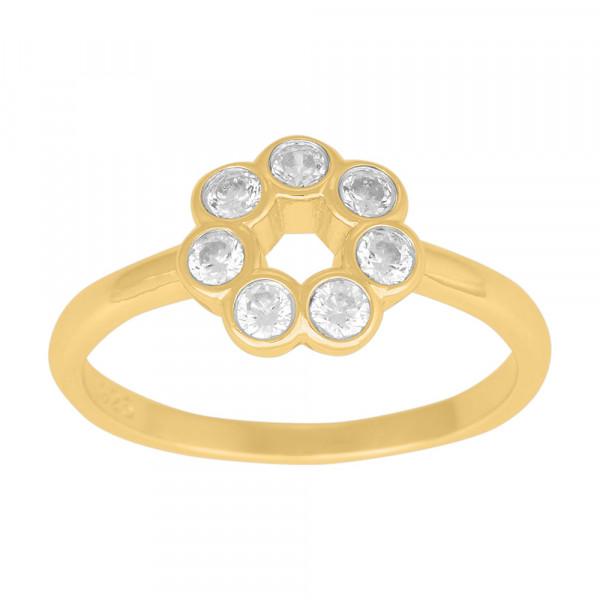 Damenring SWAROVSKI Rhodinierter Silber Ring AMY