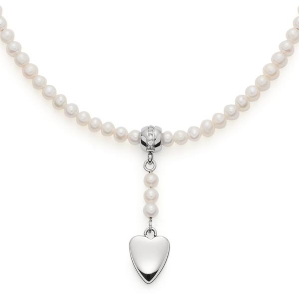 LEONARDO Damen Halskette Ameli mit Süßwasser Perlen