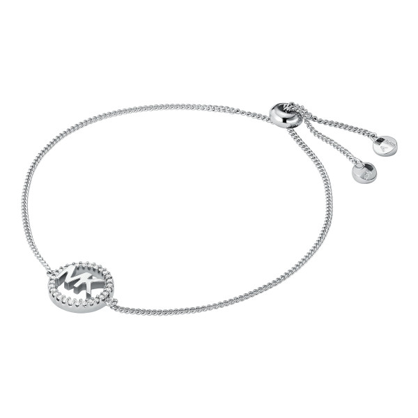 Michael Kors Damen Armband mit Logo und Zirkonia
