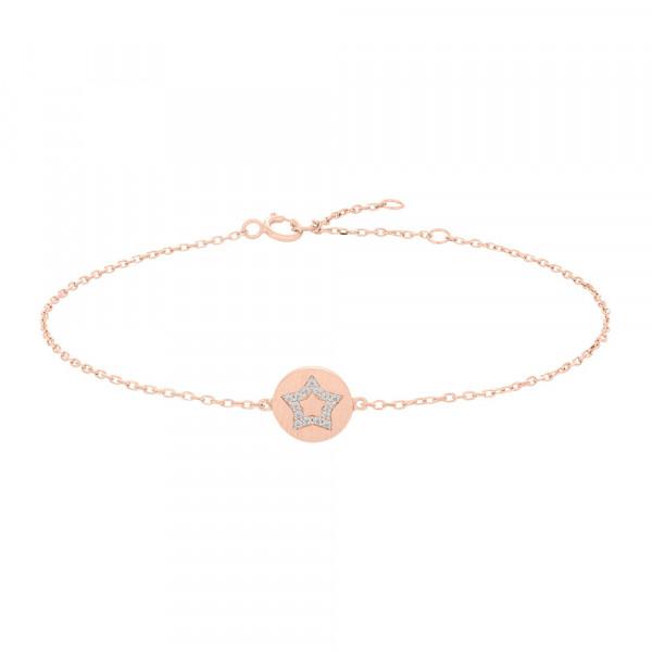 Joanli Nor Damenarmband Armband BEA Stern mit Zirkonia